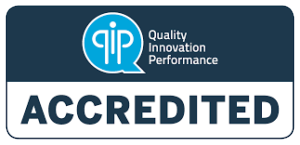 QIP Accredited Logo